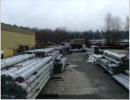 Extensive galvanized pipe inventory